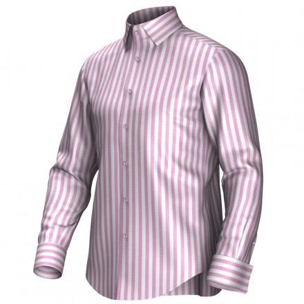 Bespoke shirt white/pink 54393