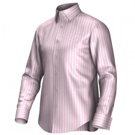Bespoke shirt pink/white 54404
