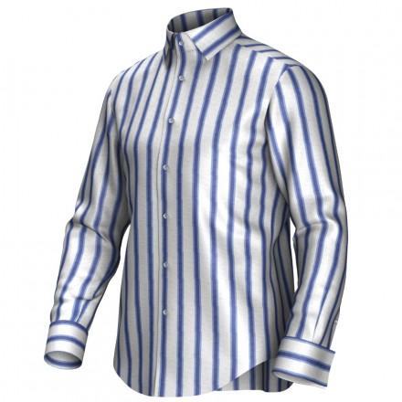 Bespoke shirt blue/white 54415