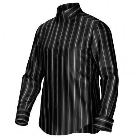 Bespoke shirt black/grey 54366