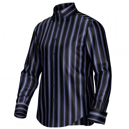 Bespoke shirt black/blue 54367