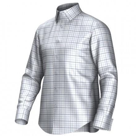 Bespoke shirt white/blue 55285