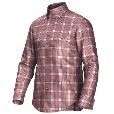 Bespoke shirt orange/white 55284