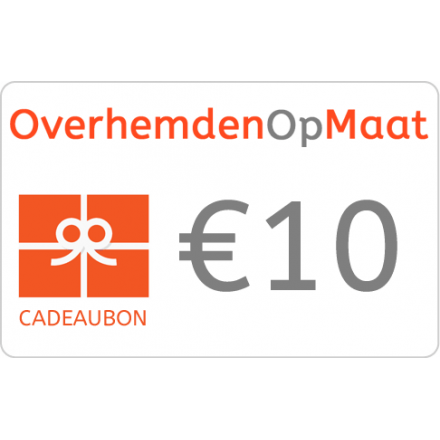 Giftcard 10 Euro