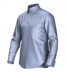 Bespoke shirt blue 51002