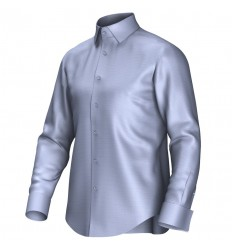 Bespoke shirt blue 52006