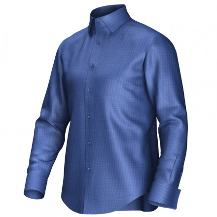 Bespoke shirt blue 51057