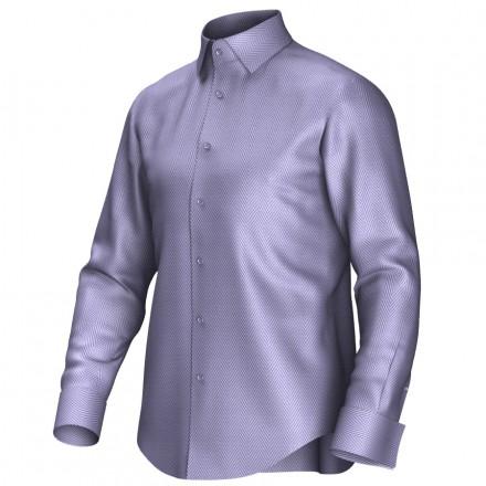 Bespoke shirt blue 52017