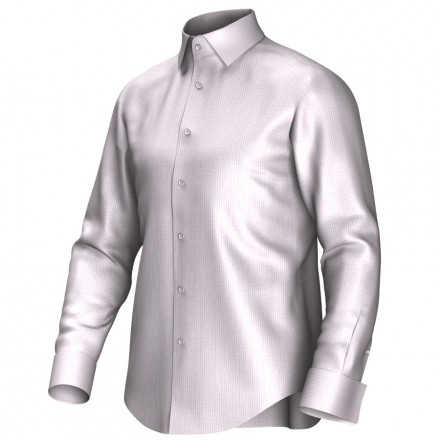 Bespoke shirt white/pink 54379
