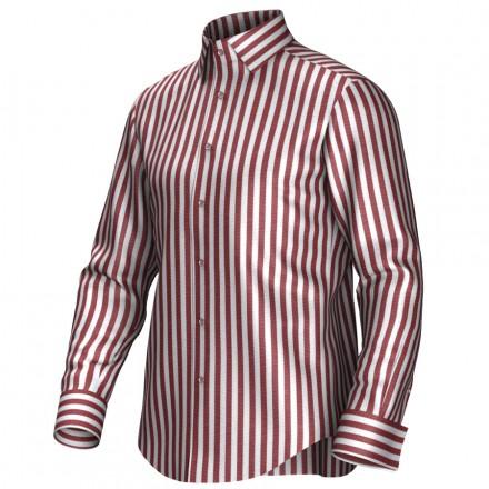 Bespoke shirt white/red 54394