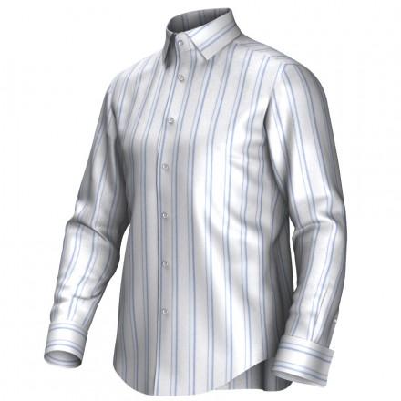 Bespoke shirt white/blue 54401