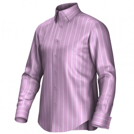 Bespoke shirt pink/white 54407