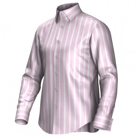 Chemise rose/blanc 54025