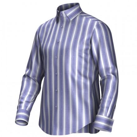 Chemise bleu/blanc 54035