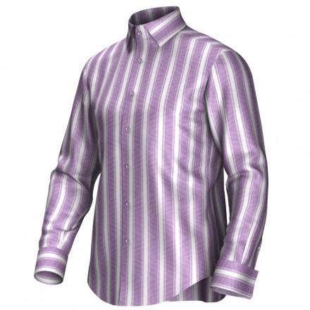 Maatoverhemd roze/wit 54156