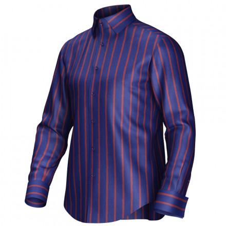 Bespoke shirt blue/red 54422