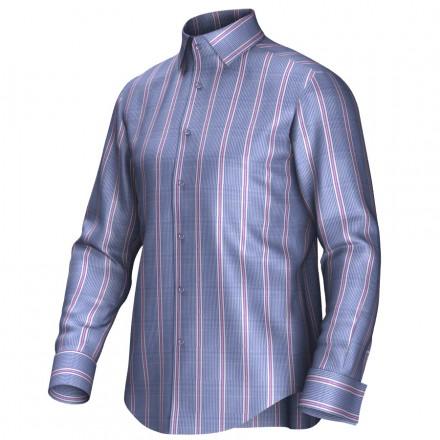 Bespoke shirt blue/pink 54424