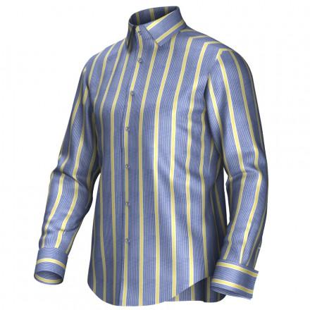 Bespoke shirt blue/yellow 54425