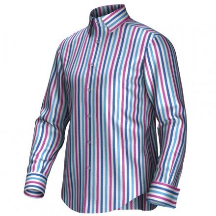 Bespoke shirt blue/pink 54432