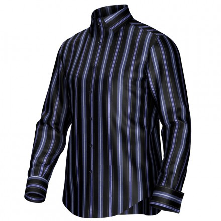 Bespoke shirt black/blue 54367