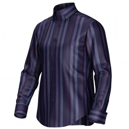 Bespoke shirt blue 54365