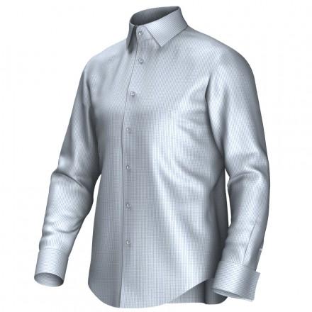 Chemise bleu/blanc 53314