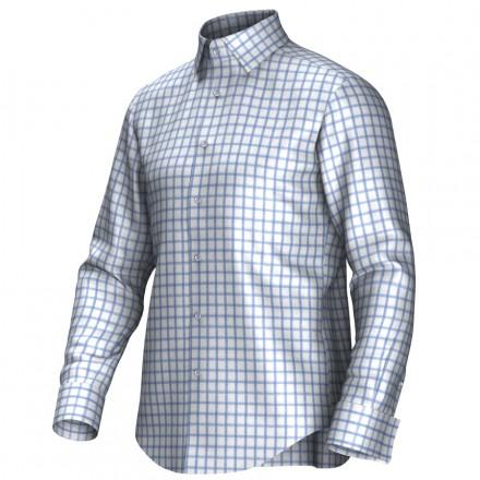 Chemise blanc/bleu 53197