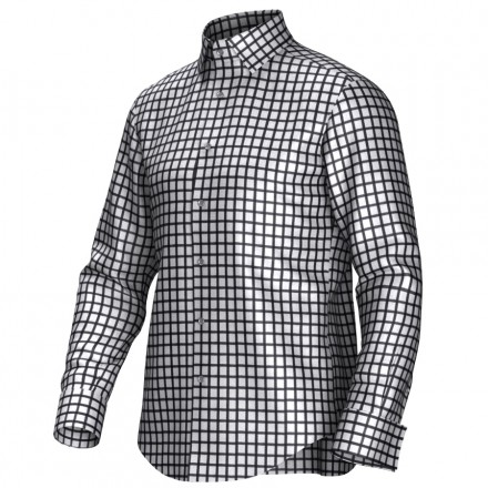 Chemise blanc/noir 53300
