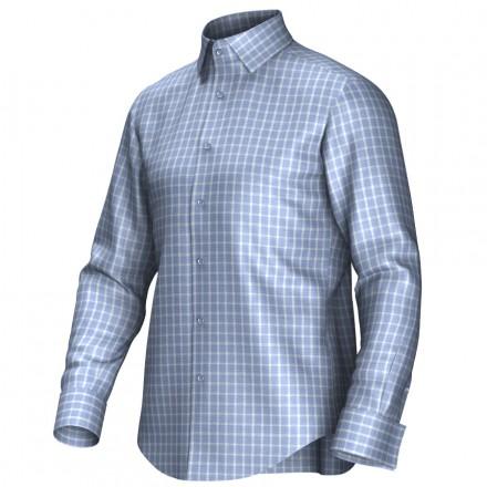 Bespoke shirt blue 53301