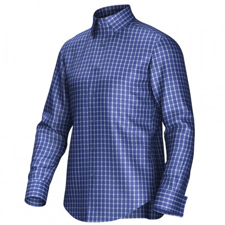 Bespoke shirt blue 53303