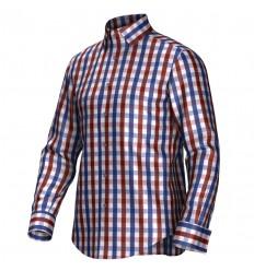 Bespoke shirt red/blue 53269