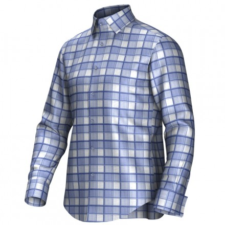Bespoke shirt blue 55279