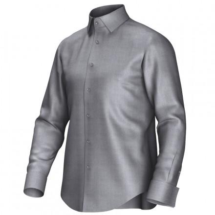Maßhemd grau 51009