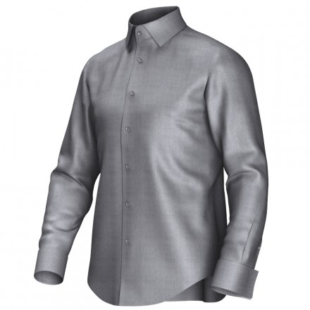 Bespoke shirt grey 51009