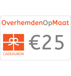 Giftcard 25 euro