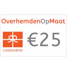 Gutschein in Wert von 25 euro