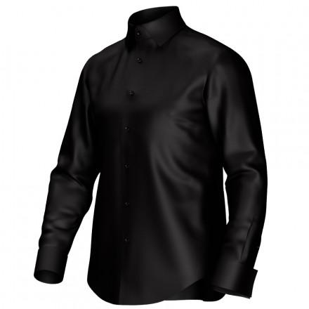 Maßhemd schwarz 51052