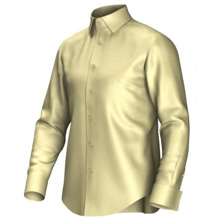Maatoverhemd geel 51008