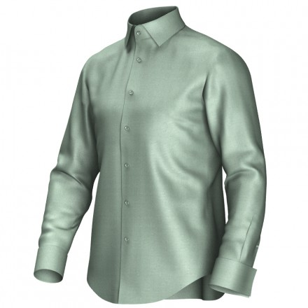 Bespoke shirt green 51010