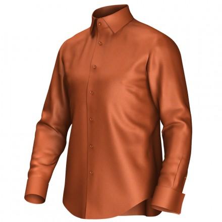 Bespoke shirt orange 51055