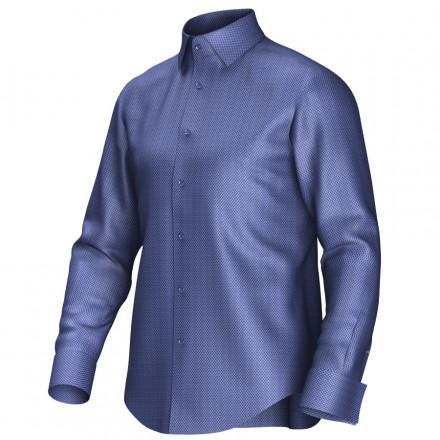 Bespoke shirt blue 52007