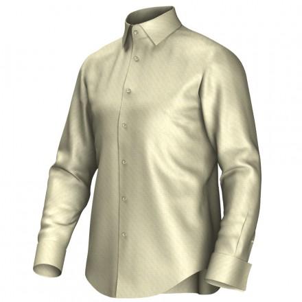 Maatoverhemd geel 52011