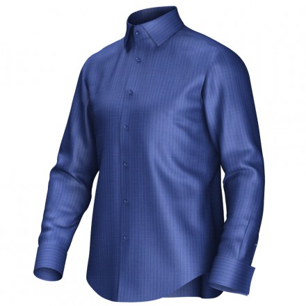 Bespoke shirt blue 51058
