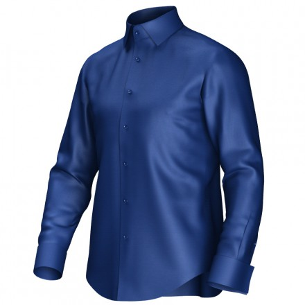 Maßhemd blau 51059