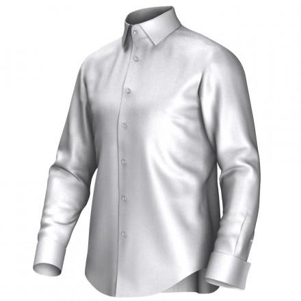 Maatoverhemd wit 52133