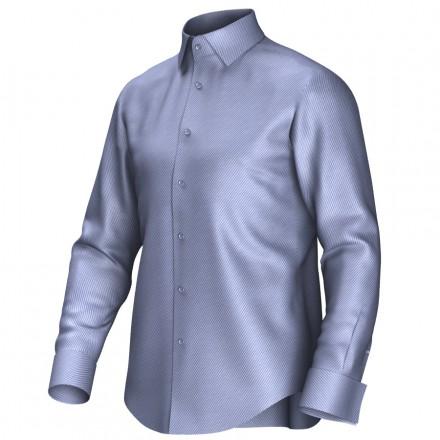 Maatoverhemd blauw 52024