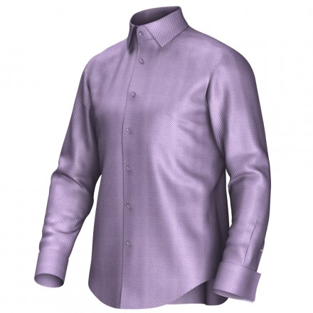 Bespoke shirt lila 52146